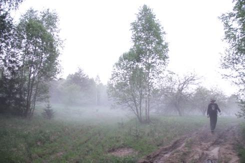утро чел в тумане