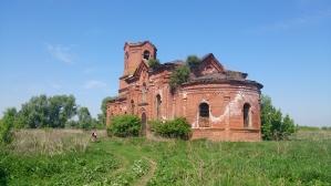 Начинаем экскурсию. Храм построен в 1880 году